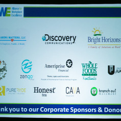 Thank you to all of our wonderful 2015 sponsors and donors!