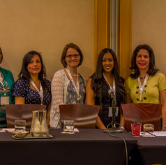 AWE's wonderful panel for the Millennials in the Workplace panel discussion on muli-generations in the workplace.