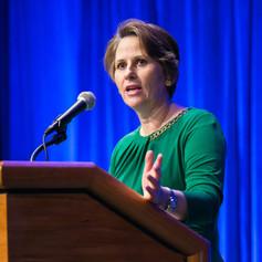 Keynote speaker, Ms. Michele Norris