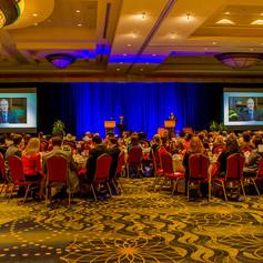 Congressman Chris Van Hollen congratulates the 2014 AWE Award Winners