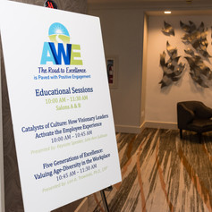 The 2019 Morning Educational Sessions at the AWE Awards Celebration