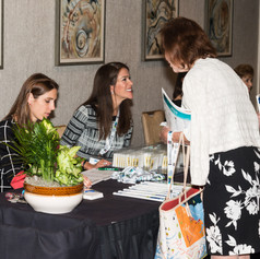 Registration at the 2019 AWE Awards Luncheon