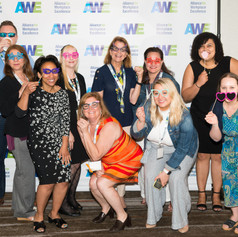 The Emmes Company having fun at the 2019 AWE Awards Luncheon on June 7, 2019 in Gaithersburg, Maryland