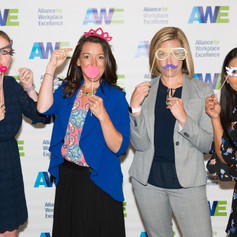 Adventist HealthCare having fun at the 2019 AWE Awards Luncheon on June 7, 2019 in Gaithersburg, Maryland