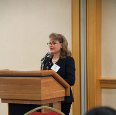 Judy Ashley, Senior Consultant with LS Technologies, presented on the latest 'Trends in Workplace Excellence'