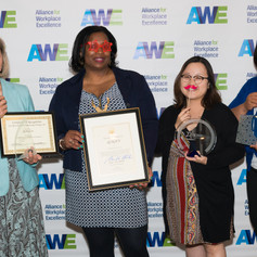 QIAGEN having fun at the 2019 AWE Awards Luncheon on June 7, 2019 in Gaithersburg, Maryland