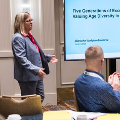 Lori A. Trawinski, Ph.D., CFP® presents Five Generations of Excellence: Valuing Age Diversity in the Workplace
