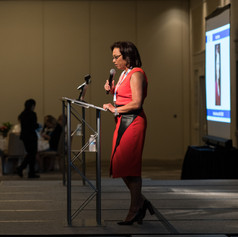 Veronica Johnson, Emcee of the 2018 AWE Awards Luncheon