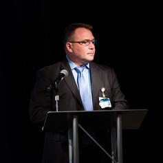 Scott Graham, Co-Award Presenter of the 2018 AWE Awards Luncheon