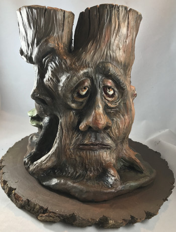 The Old Tree. (Front View)