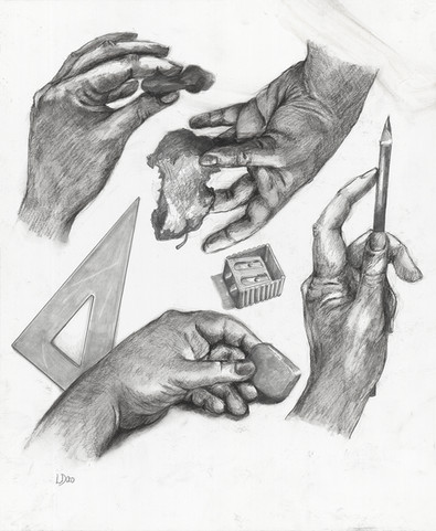 Study of my hand