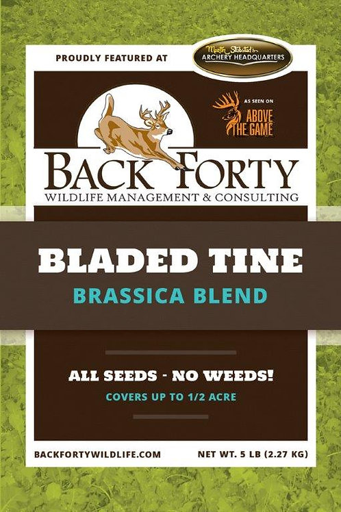Bladed Tine Brassica Blend with Carrots