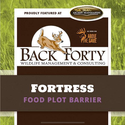 Fortress Food Plot Barrier