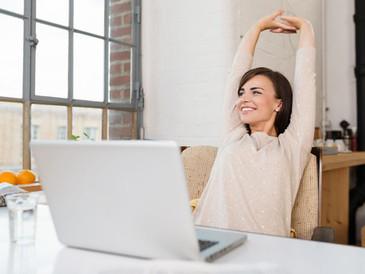 Haz un STOP de 5 minutos en mitad del lío del trabajo.