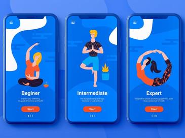Mi experiencia con una app de meditación y yoga.