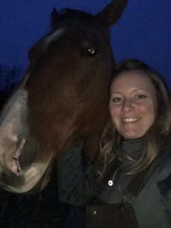 horse selfies