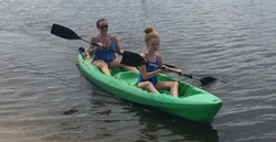 kayaking Destin, FL bayside