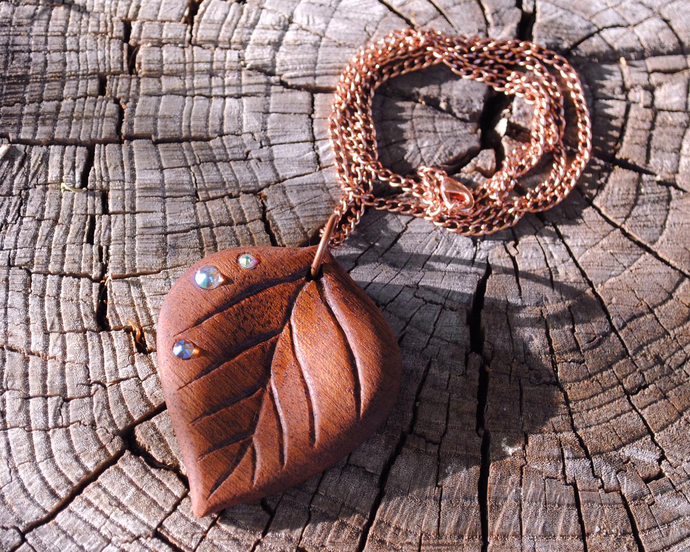Aspen Leaf Pendant