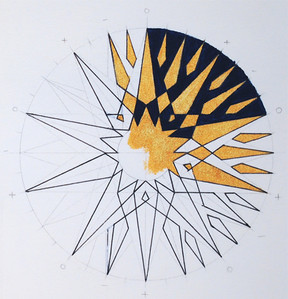 Geometric Sunburst