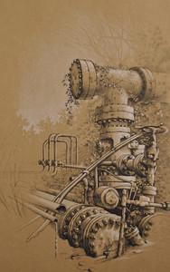 Overgrown Pipeline