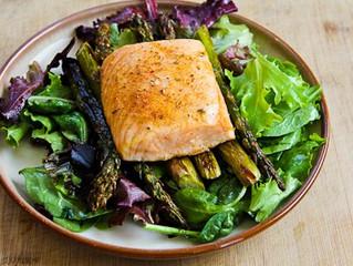 Salmon and Asparagus Salad
