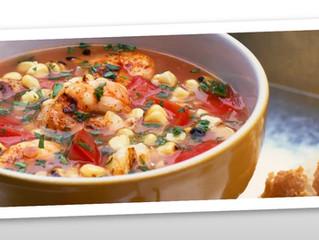 Creole Corn and Shrimp Soup