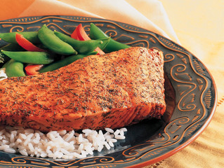 Old Bay® Baked Crusted Salmon: