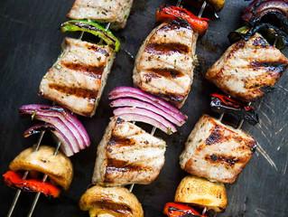 Grilled Tuna Kabobs