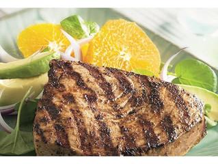 Caribbean Grilled Tuna