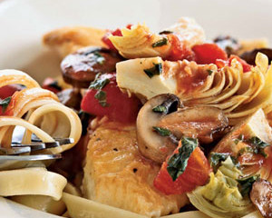 Swordfish Linguine