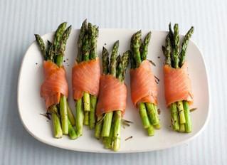 Smoked Salmon Wrapped Asparagus