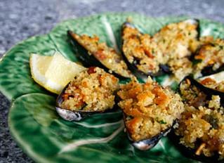 Parmesan Mussels