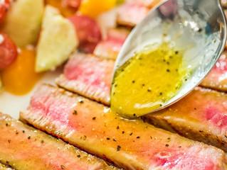 Maple-Mustard Ahi Tuna