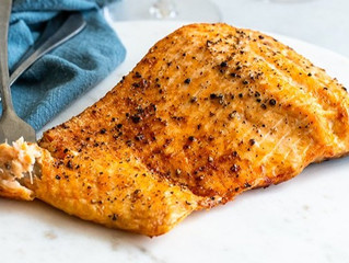 Crispy Air Fryer Salmon
