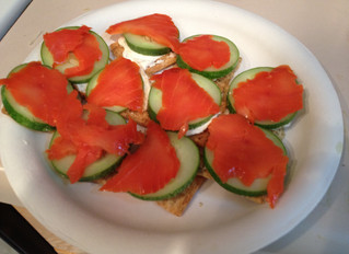 Quick and Easy Smoked Salmon Appetizer