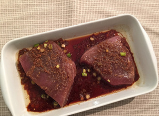 Marinated Tuna Steaks Recipe