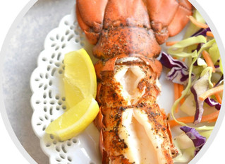 Easy 10 Minute Broiled Lobster Tail