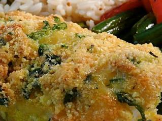 Garlic-Crusted Cod Fish