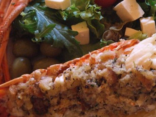 Baked Stuffed Lobster Tails