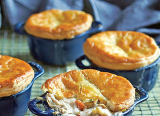 Oyster and Rockfish Pot Pie