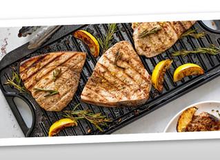 Grilled Marinated Swordfish Steaks