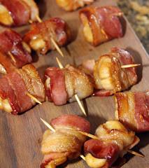 Teriyaki Bacon Wrapped Scallops