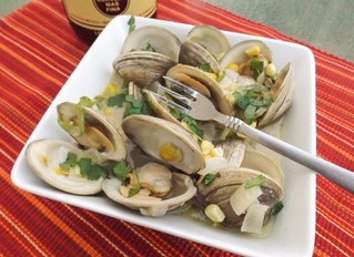 Mexican Beer Little Neck Clams: