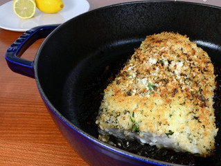 Lemon & Herb Crusted Halibut