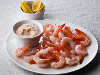 Shrimp with Remoulade Dipping Sauce