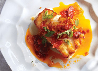 Cod with Chorizo and Breadcrumbs