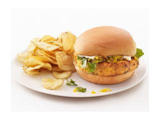 Salmon-Apple Burgers