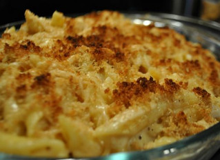 Mac N Cheese with Crab