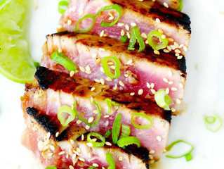 Seared Tuna Steaks