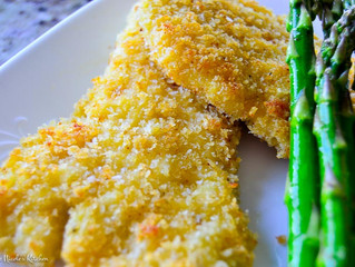 Baked Rockfish with Panko Breadcrumb
